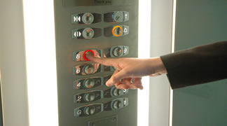 botonera ascensor
