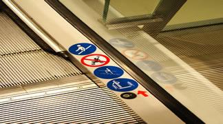 diferentes modos de funcionamiento escaleras mecánicas