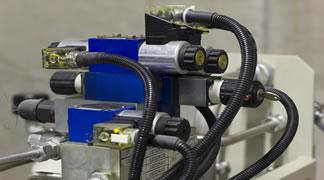 máquina hidráulica